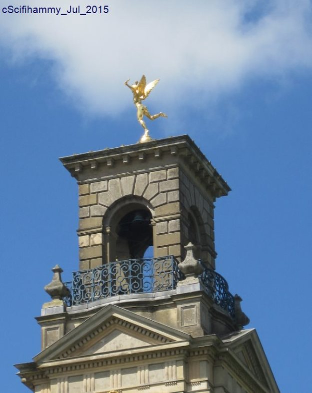 Angel on Clock Tower